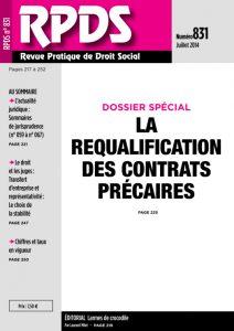 RPDS 831 - Juillet 2014