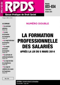 RPDS 833-834 - Sept. Octobre 2014