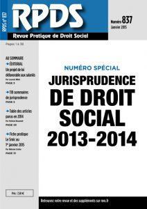 RPDS 837 - Janvier 2015