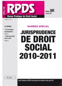 RPDS 801 Janvier 2012