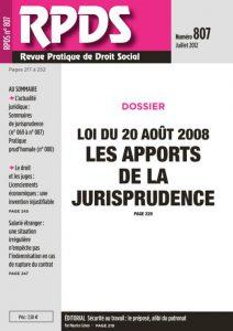 RPDS 807 Juillet 2012