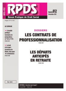 RPDS 812 - Décembre 2012