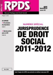 RPDS 813 - Janvier 2013