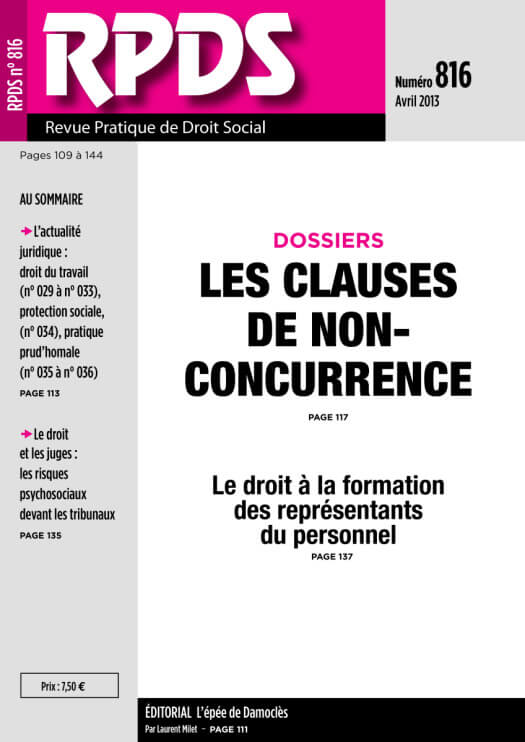 RPDS 816 - Avril 2013
