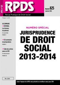 RPDS 825 - Janvier 2014
