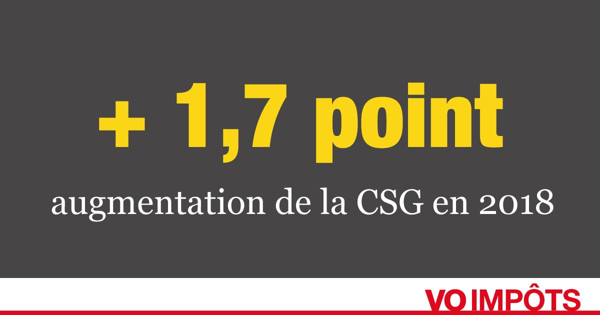 Augmentation De La Csg En 2018 Qui Est Concerne Syndicoop Info