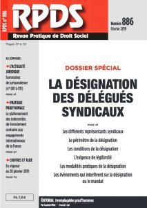 RPDS 886 La désignation des délégués syndicaux