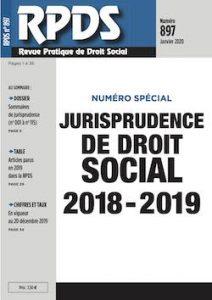 RPDS 897 - Jurisprudence de droit social
