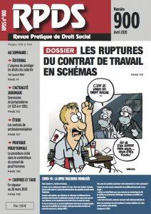 RPDS 900 - Les ruptures du contrat de travail en schémas