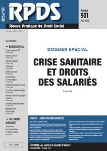 RPDS 901 - Crise sanitaire et droits des salariés