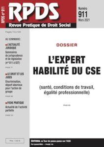 RPDS 911 - L'expert habilité du CSE