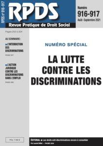 RPDS 916-917 La lutte contre les discriminations